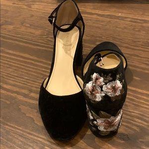 Blocked heeled Shoes- Size 9M